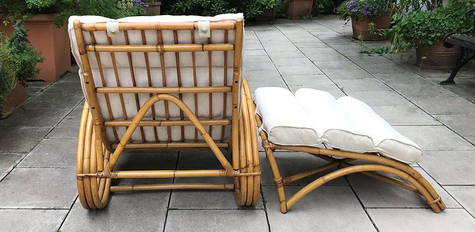 Bonacina-lounge-chair-ottoman-bamboo