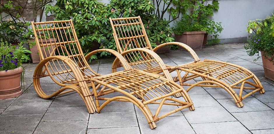 Bonacina-lounge-chair-ottoman-bamboo-rattan