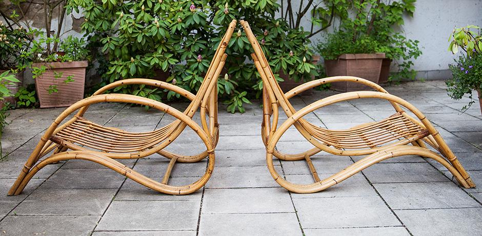Bonacina-lounger-chair-ottoman-bamboo