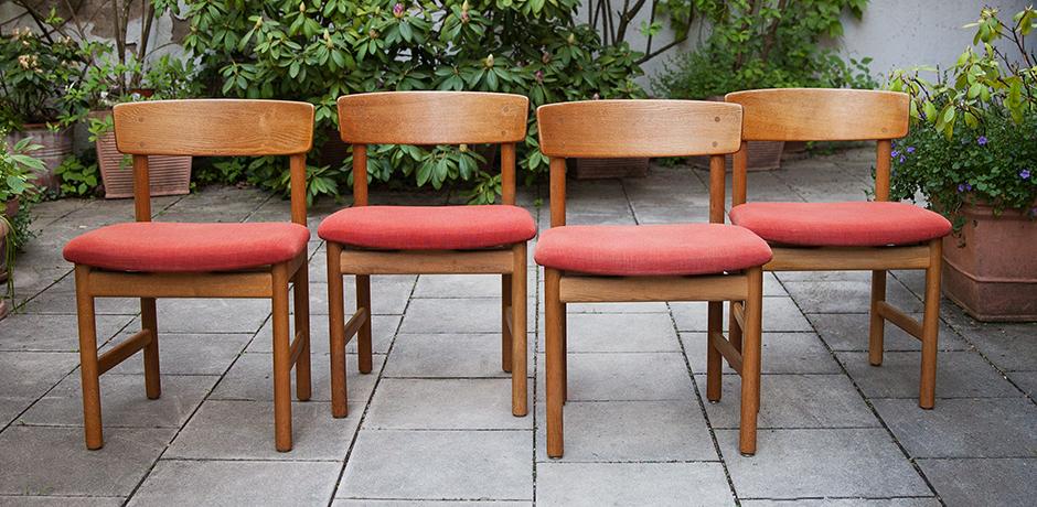 Borge-Mogensen-Oak-Dining-Chairs-bench-Stolefabrik