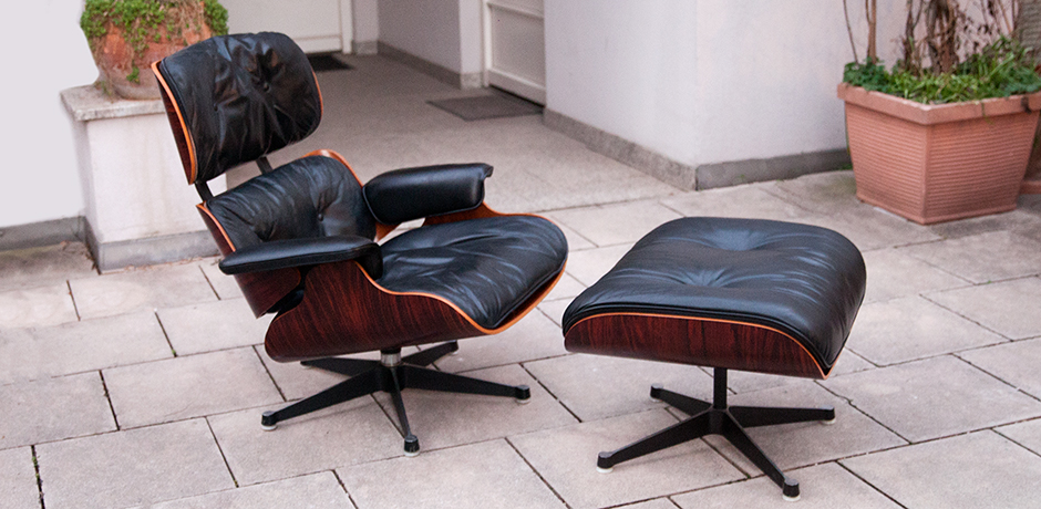 Charles-Eames-lounge-chair-ottoman-leather-black