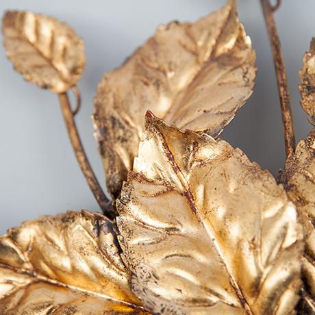Florentine-Wandleuchten-blaetter-gold