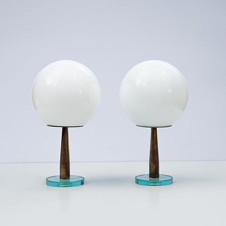 Fontana-Arte-table-lamps-white-ball