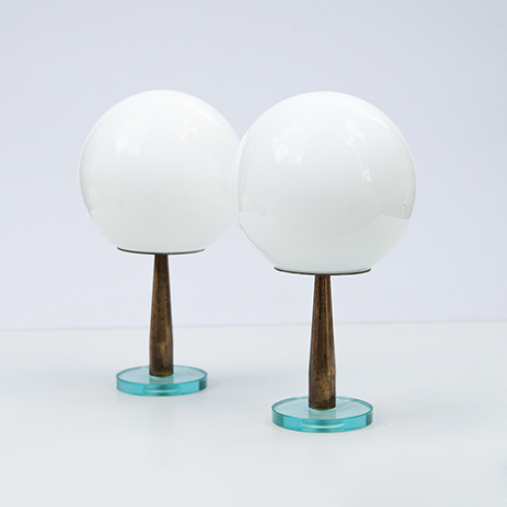 Fontana-Arte-Tischlampe-Lampe-weiss-glas