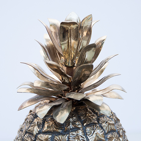 Fredo-Therm-ananas-eiskuehler-eiswuerfelbehaelter-silber