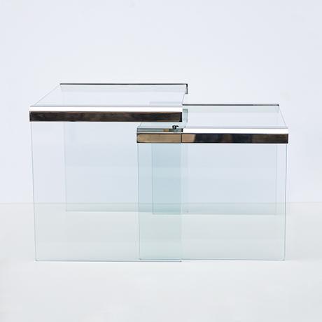 Gallotti-Radice-Beistelltisch-Satztisch-Tische-glas