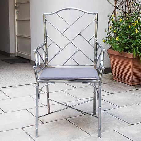 Schlichtes DesignHollywood-Regency-armchair-faux-bamboo