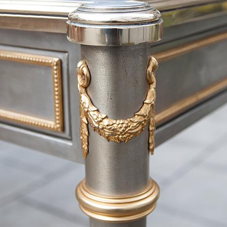 John-Vesey-desk-steel-bronze-vintage