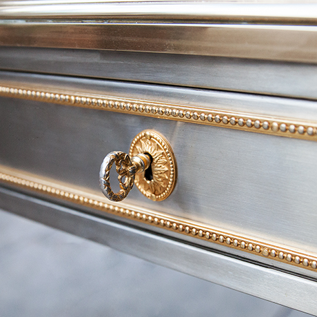 John-Vesey-table-steel-bronze-vintage