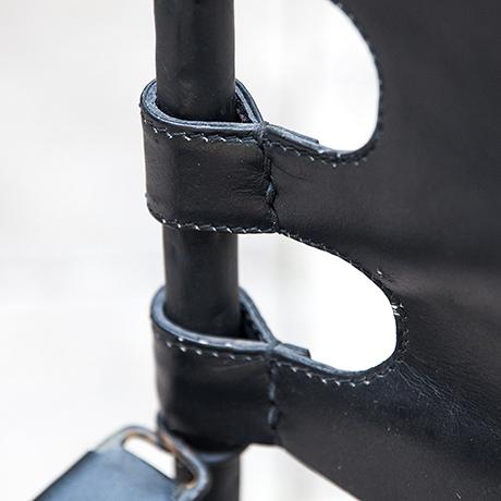 Maison-Jansen-chair-black-leather-interior