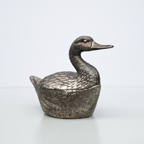 Schlichtes DesignMauro-Manetti-duck-ice-bucket-silver
