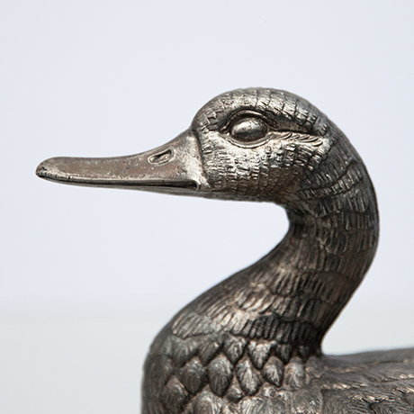 Mauro-Manetti-duck-ice-cooler-silver