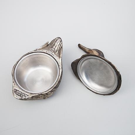 Mauro-Manetti-duck-ice-bucket-silver