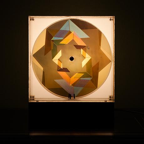 Oliver-Bevan-lightbox-sculpture-moving-lamp