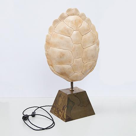 Pierre-Cardin-Porzellan-Muschel-Lampe-Keramik