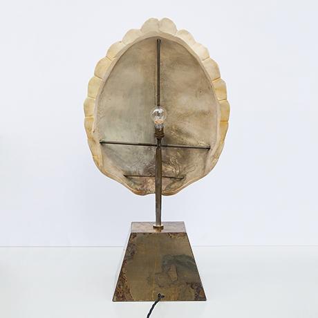 Pierre-Cardin-table-lamp-turtle-shell-ceramic