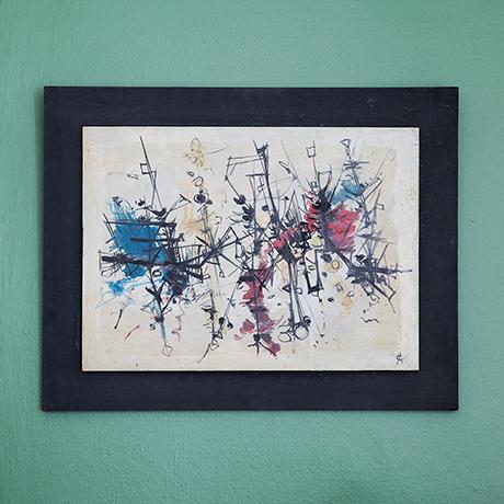 Schlichtes DesignRolf-Cavael-oil-painting-abstract