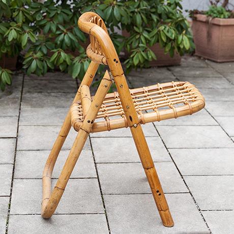 Klappstuehle-Stuhl-bambus-vintage-Stuehle