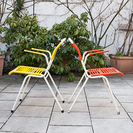 folding-chairs-blue-red-yellow-germany
