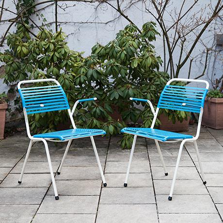 Klappstuehle-Stuhl-blau-vintage-Arnold
