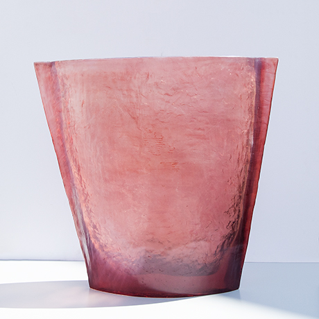 vase-red-pink-monumental-acrylic-italy