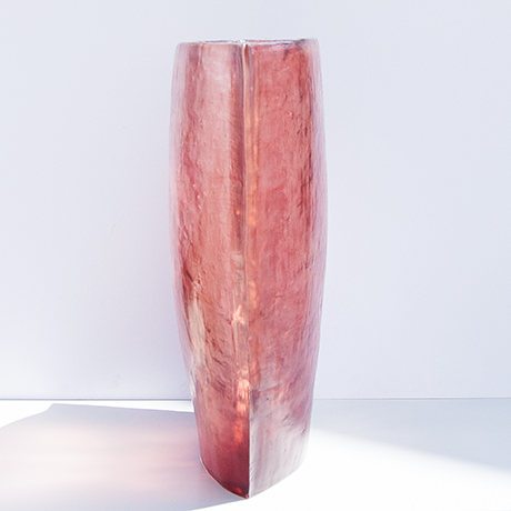 vase-Acrylvase-lila-rot-italien