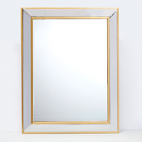 Schlichtes Designwall-mirror-Hollywood-Regency