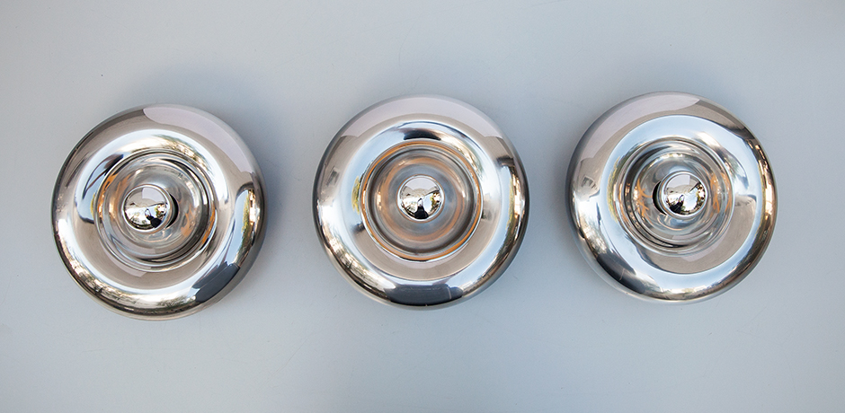 Luci-wall-sconces-lamps-chrome-round
