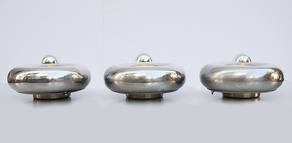Luci-wall-sconces-lamps-chrome-italy
